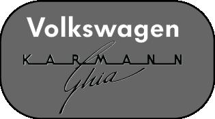 Volkswagen Karmann Ghia Cabrio 1958: Car Emblems