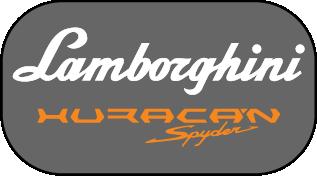Lamborghini Huracan Spyder 2017: Car Emblems