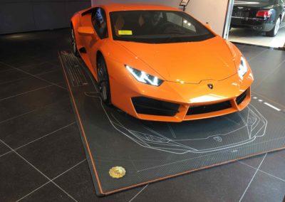 Lamborghini arancio